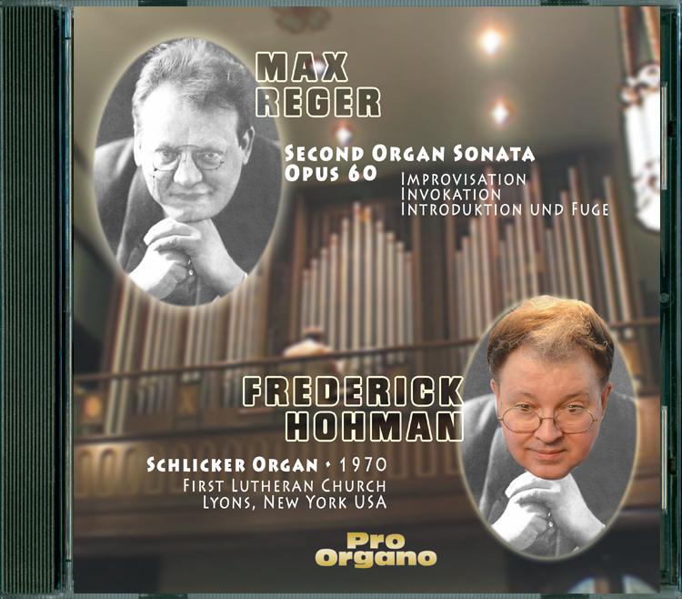 Reger Sonata Cover Image